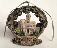 Sacramento Governor's Mansion Christmas Tree Ornament with Stand #2601 7/2000