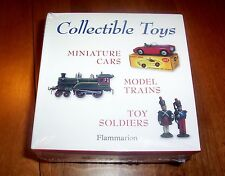 COLLECTIBLE TOYS Antiques Toy Model Trains Miniature Cars Soldiers Book Set NEW