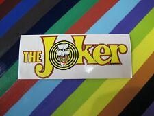 vtg 1980s Batman DC The Joker sticker decal
