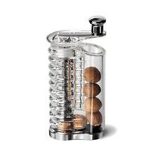 Cole & Mason Clear Acrylic Nutmeg Mill Grinder Gift Boxed