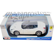 Maisto Ferrari California T Open Top Convertible 1:18 Diecast Car White