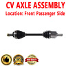 1x Front Passenger Side CV Joint Axle Shaft For ACURA CL 97-99 V6 3.0L 2997cc