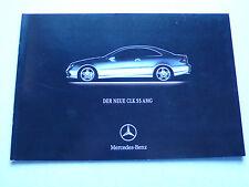 Prospekt Mercedes - der neue CLK 55 AMG, 2.2002, 12 Seiten