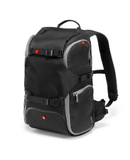 Manfrotto Advanced Travel Backpack Black Fits DSLR 3 Lens Flash & Accessory