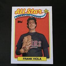 1989 Topps FRANK VIOLA #406  Minnesota Twins