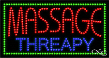 """New """"Massage Therapy"""" 32x17 Solid/Animated Led Sign w/Custom Options 21093"""
