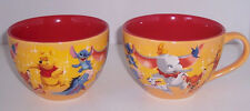 Disney Store Coffee Mug Pooh Stitch Dumbo Eeyore Bambi 25th Anniversary