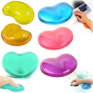 Silicone Gel Wrist Rest Cushion Ergonomic Mouse Pad Reduce Wrist Fatigue Pain