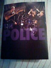 The Police tour book