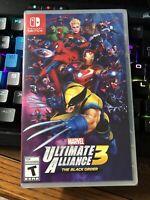 Marvel Ultimate Alliance 3 - The Black Order - Nintendo Switch New Sealed Fast!