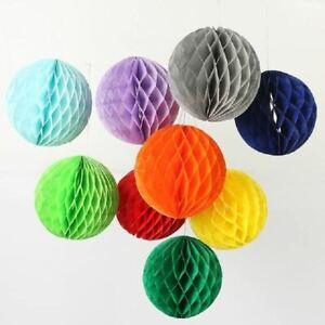 1 Pc Honeycomb ball paper flower lantern ball wedding party kids birthday party