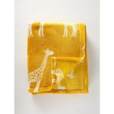 yellow giraffe  FLEECE THROWS Super Soft Sofa Bed  Blanket 150x 120cm