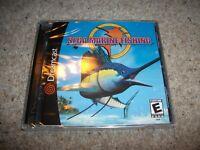 SEGA MARINE FISHING - Sega Dreamcast (NTSC/U)  Very Rare NEW & SEALED (US)