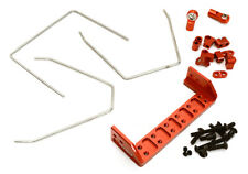 C28411RED Anti Roll Stabilizer Sway Bar Kit for Traxxas TRX-4 Off-Road Truck