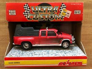 Majorette Ultra Custom Chevrolet Pickup Truck 1:32 Scale 3220 Series