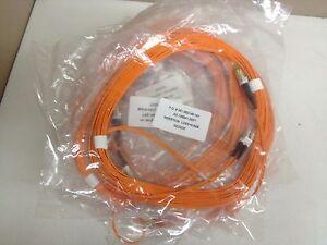 LOT of 36 NEW Anixter Duplex LC to MTRJ 20ft Fiber Jumper AX-105541-20FT