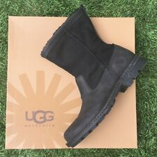 UGG HARTSVILLE 13 NEW NO BOX BLACK FUR INSOLES CHRISTMAS READY WATERPROOF RARE