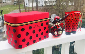 Marc Jacobs DOT Full Collection Gift Set 3.4 EDP, Rollerball, Lotion, Wash, Case