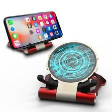 10W Wireless Charger Fast Charging Pad Folding Phone Holder for iPhone Samsung