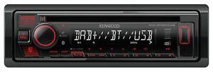 Kenwood KDC-BT450DAB CD/MP3-Autoradio DAB Bluetooth USB AUX-IN