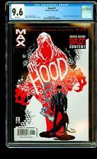 The Hood #1 CGC 9.6 1st app. of Parker Robbins (The Hood) (2002) MAX MARVEL