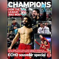 LIVERPOOL ECHO Souvenir Special Issue - PREMIER LEAGUE CHAMPIONS 2019/2020