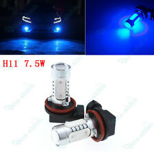 Blue H8 H11 7.5W LED Fog Driving DRL Light For Holden Commodore VE VT VZ VY -2X