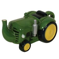Collectable Novelty Kitchen Teapot Tractor Green China Tea Pot for Collector New