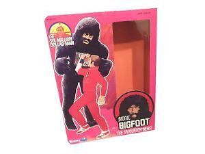 Kenner Six Million Dollar Man Bigfoot Figure Reproduction Box