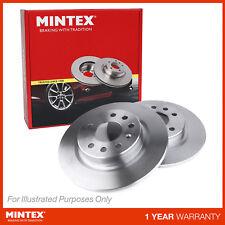 NEW MINTEX REAR SOLID BRAKE DISCS SET PAIR - MDC2041