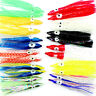 20pcs 6cm Octopus Squid Skirt Lures Baits Hoochies Saltwater Soft Fishing Lure