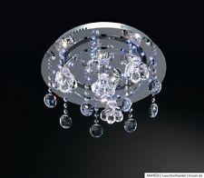 Deckenleuchte Deckenlampe Kronleuchter Glas Kristall LED Halogen Fernbedienung