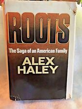 Roots: The Saga of an American Family, Alex Haley, 1976 - Vintage Hardback w/DJ