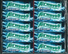30x Wrigleys Airwaves Extreme Extra Strong Mint Chewing Gum Full 30 pack 300 pcs