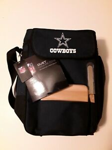 NFL Dallas Cowboys Duet Insulated 2-Bottle Wine and Cheese Tote