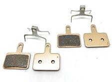 2 Pairs Bike brake pads SINTERED for Shimano Deore -BR-C601-M445-M485-M515-M416-