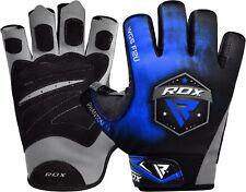 Rdx gimnasio guantes pesas Gym Musculacion fitness entrenamiento Halterofilia es azul XL