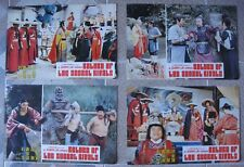 "RETURN OF THE SECRET RIVALS 4 Chinese Lobby Cards Film 10x15"" Movie poster"