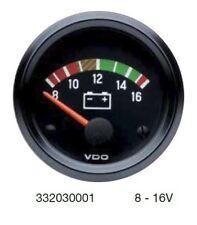 Cockpit International VDO 8-16 Volt Voltmeter, 12 volt, 52mm 2 inch