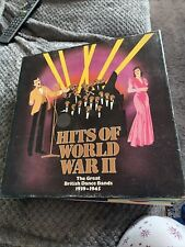 Hits Of World War Two Vinyl The Great British Dance Bands Of 1939-1945 8 LP Comp