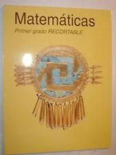 Matematicas Primer grado Recortable