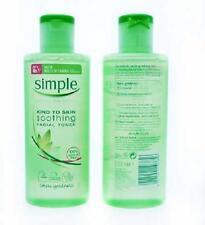 ** SIMPLE KIND TO SKIN SOOTHING FACIAL TONER NEW ** 200ml 100% ALCOHOL FREE