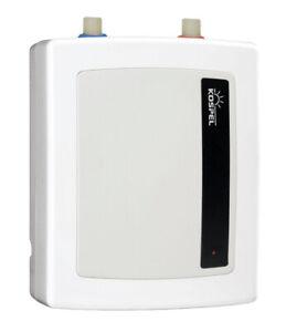Klein Durchlauferhitzer Handwaschbecken 5,5 kW Amicus 2 druckfest Spüle Toilette