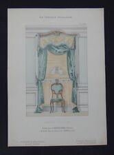 LA TENTURE FRANÇAISE 1904 - Fenêtre Louis XV - Davène décoration 28