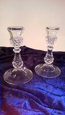 2er Bleikristall Kerzenhalter Kerzenleuchter Weihnachtsdeko Edel handschlief