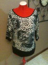 Cat Casual Regular Size Tops & Blouses for Women