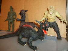 4 Harryhausen Creatures/Figures-Dragon, Cyclops,Centaur,Talos