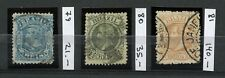BRAZIL 1881 Scott 79, 80, 81 Set Used CV$196.00