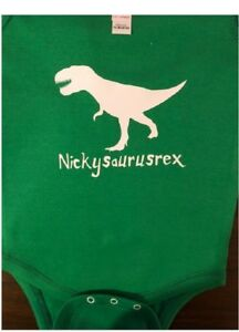 Dinosaur t rex one piece infant t rex bodysuit t rex baby shirt dinosaur baby