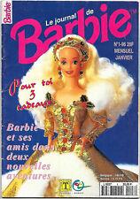 Le Journal de Barbie - N°1- 96 - Janvier 96